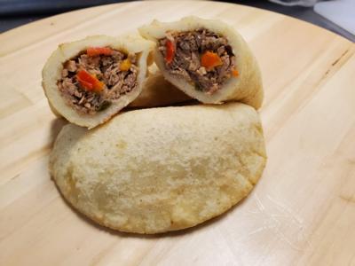 Oven Baked Pulled Pork Empanada x 4