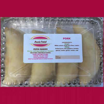 Pork Empanada x 4