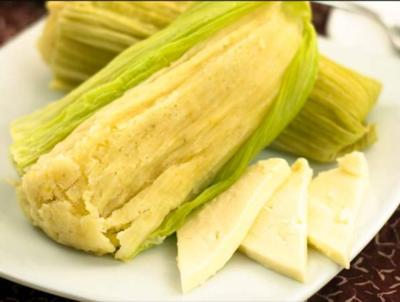 Humitas x 4 (Corn and Cheese Tamales)