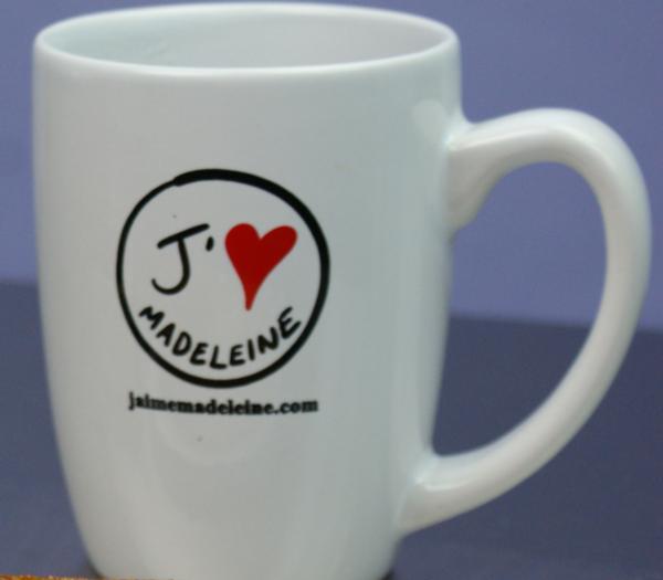 J'aime Madeleine  Coffee Mug
