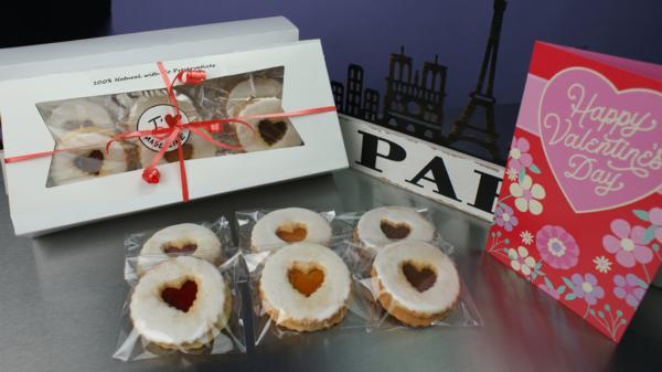 Special for Valentines Day: Assorted flavors Sablés gift box (Order today and pick up on Sat, Feb 13th)