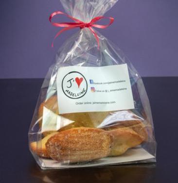 Classic madeleines (1/2 dozen)