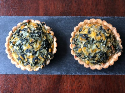 Spinach & Cheese Quiche (pack of 2)
