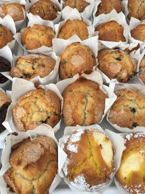 Muffins - 14 flavors to choose from - $5.50 for 2 of selected flavor