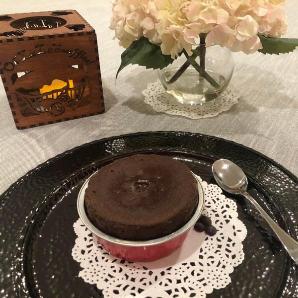 Vegan Chocolate Soufflé