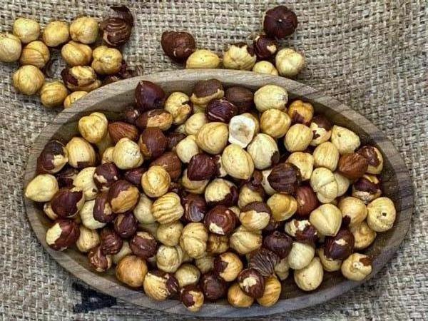 Dry-Roasted Hazelnuts (1lb)