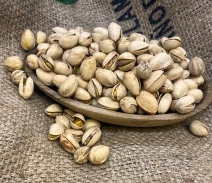 Dry Roasted, Lightly Salted Pistachios (1lb)