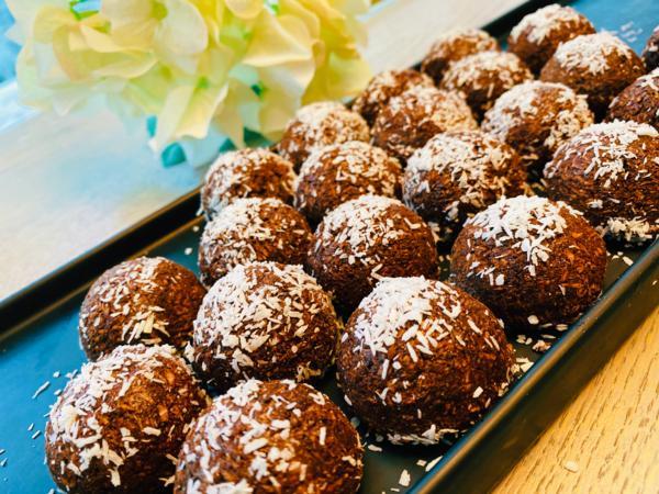 Keto Line (K3) KETO VEGAN  SUGAR-FREE Coconut Truffles - 1 Pack of 2 Truffles