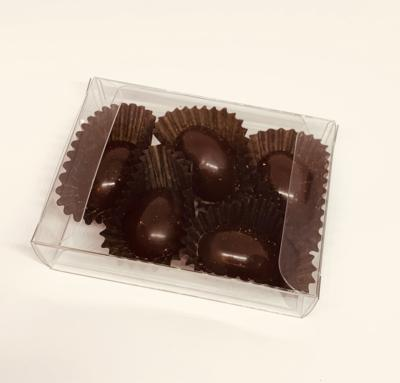 BrainSnac Guilt Free Treat Line - Simply The Best Vegan Dark Couverture* Chocolate (Gift Box of 5 pcs)