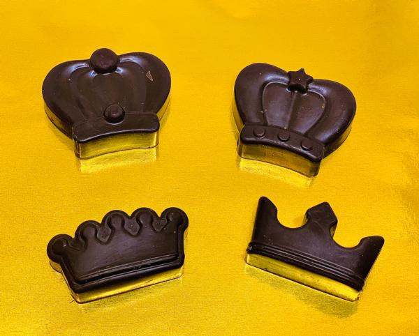 KETO LINE (K5) - KETO VEGAN PUREST DARK COUVERTURE* CHOCOLATE - Crown Set