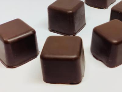 ALERT: NEW FOR MOTHER'S DAY!!! VEGAN Dark Couverture* Chocolate Truffles Filled with Ganache & Hazelnuts (1 pc, 18-19g)