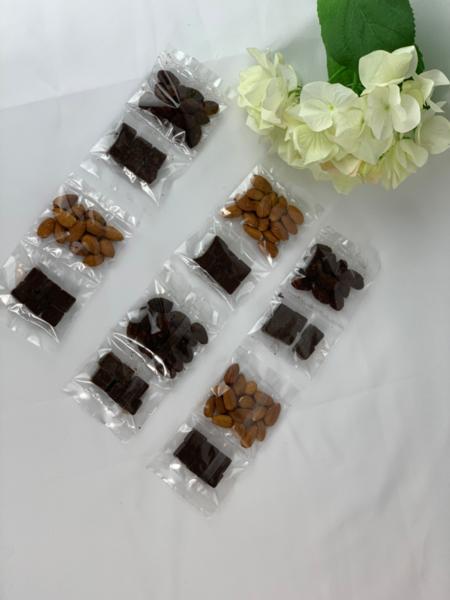 Keto Crave Buster - Keto Vegan Chocolate + KETO Cocoa Almonds - 6 packs
