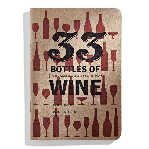 33 Bottles Of Wine Journal
