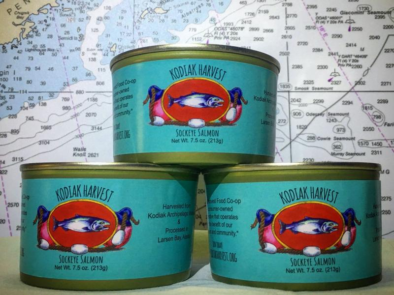 3 x Canned Kodiak Sockeye Salmon