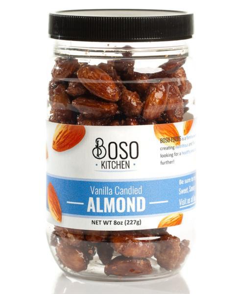 Vanilla Candied Almond 8oz Jar