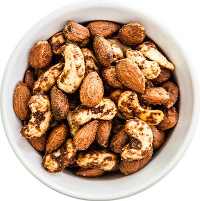 Turmeric-Chili Almond & Cashew 16oz jar
