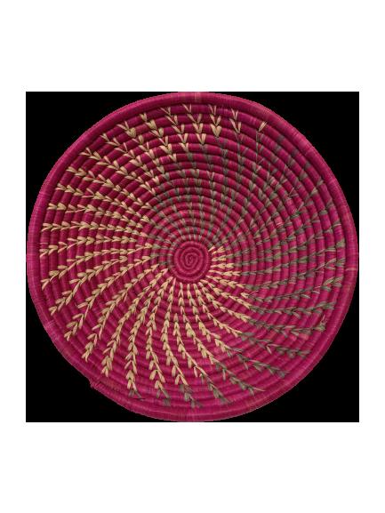 Hand Woven Ugandan Basket