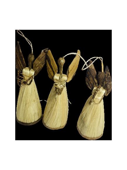 Handmade Angel Ornaments- Set of 3
