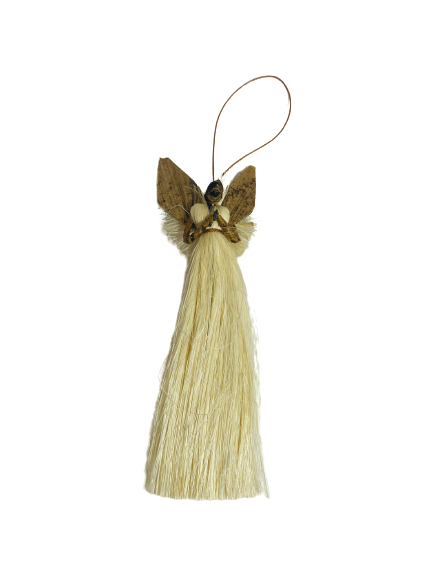 Handmade Ugandan Angel Ornament