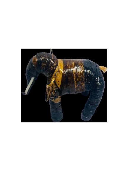 Banana Fiber Elephant Handmade in Uganda