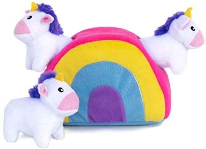 Burrow Toy - Rainbow & Unicorns