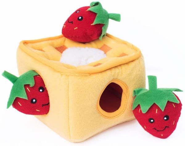 Burrow Toy - Strawberry Waffles