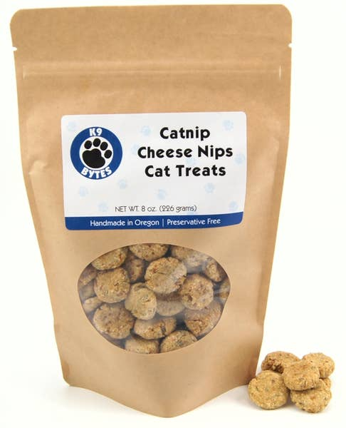 Treats - Catnip Cheese Nips Cat Treats