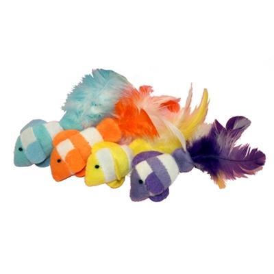 Kitty Catnip Toy - Clown Fish
