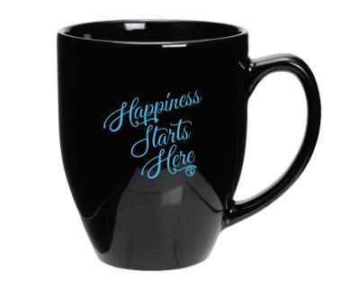 Happiness Starts Here Mug