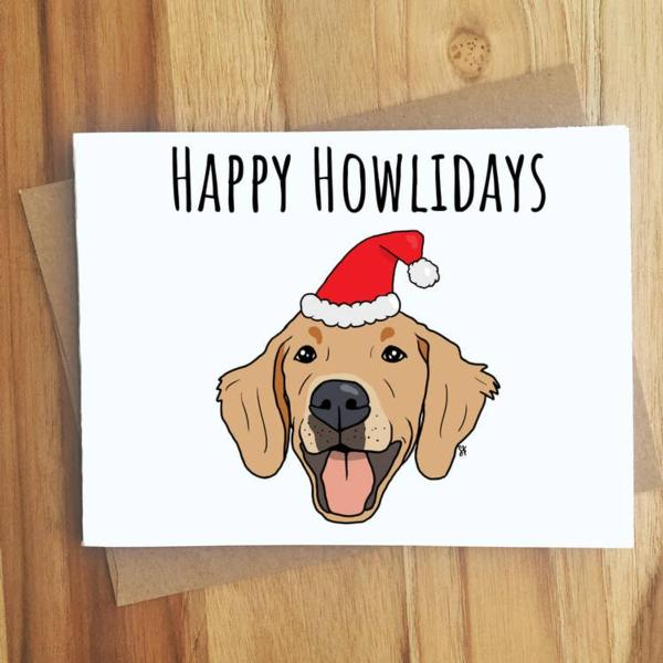Card - Happy Howlidays