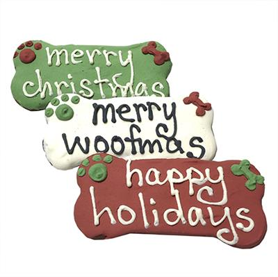 Treats - Individually Wrapped Happy Holiday Bones