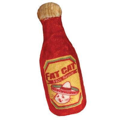 Kitty Catnip Toy - Fat Cat Hot Sauce