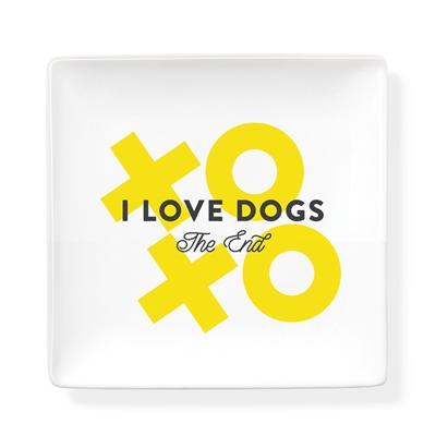 Trinket Tray - I Love Dogs