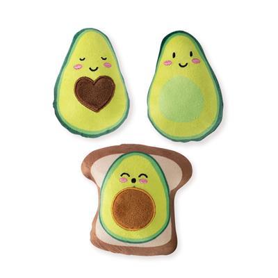 Plush Toy - Mini Avocado Set
