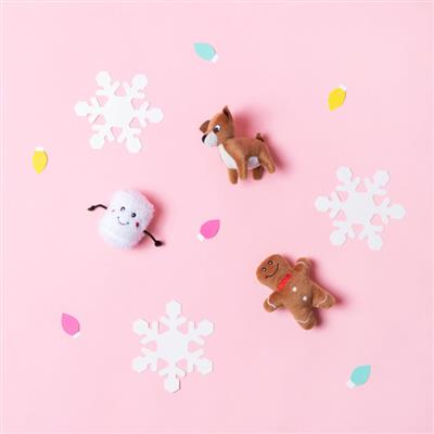 Plush Toy - Holiday Friends Minis