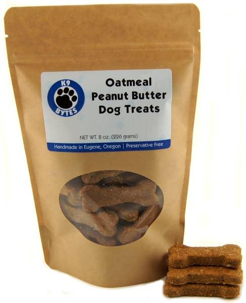 Treats - Oatmeal Peanut Butter Dog Treats