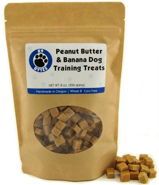 Treats - Peanut Butter & Banana Dog Training Treats