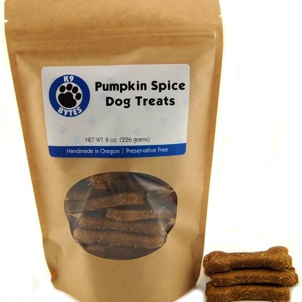 Treats - Pumpkin Spice Dog Treats