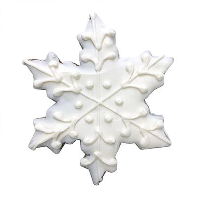 Treats - Individually Wrapped Snowflake Dog Treat