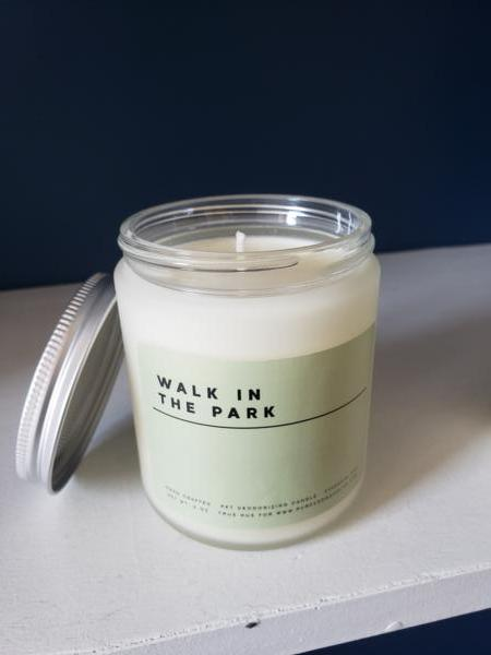 Candle: Walk In The Park - Lemongrass & Peppermint