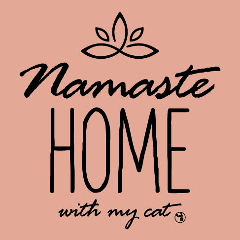 Shirt - Namaste Home With My Cat Tank - Variety of Colors & Sizes Available