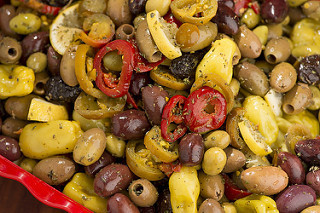 Greek Mix with Lemon and Peppers (1 lb)