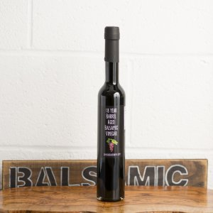 18 Year Barrel Aged Red Grape Balsamic Vinegar (375ml)
