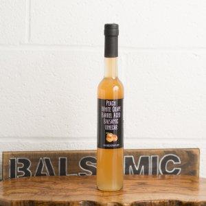 Peach White Grape Balsamic Vinegar (375ml)