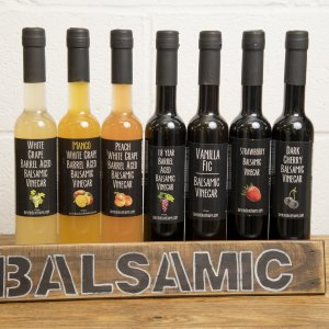 Combo Pack Infused Balsamic Olive Oil – Pick 5