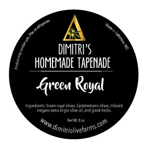 Green Royal Tapenade (8 oz)
