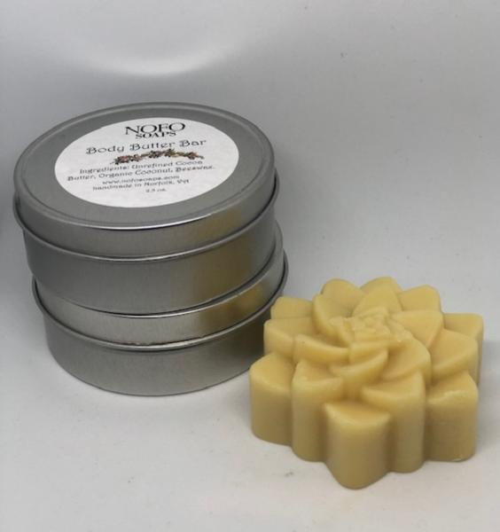 Body Butter Bar wth Tin