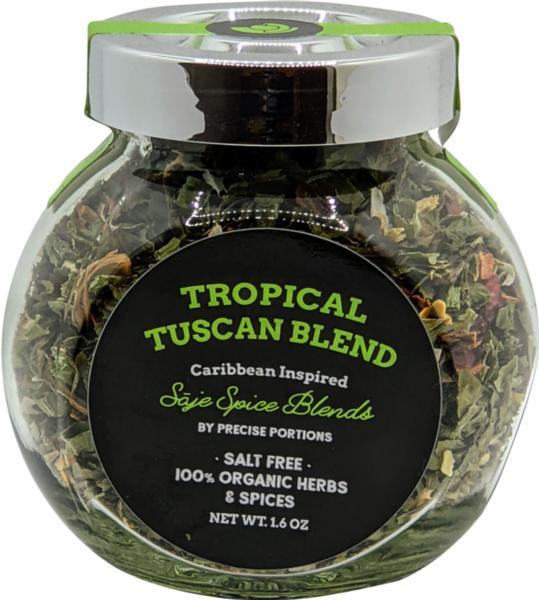 Salt-Free Tropical Tuscan Organic Spice Blend