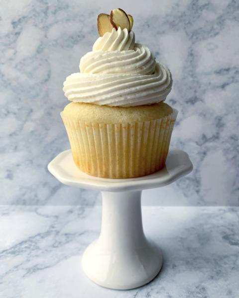 Almond Cupcakes (12 Pack)