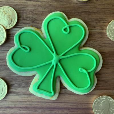 *Limited Edition* Shamrock Sugar Cookies (12 Pack)